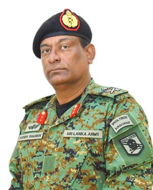 Commander - Security Forces (Kilinochchi)